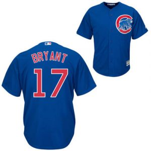Kris Bryant Chicago Cubs Majestic Cool Base Player Jersey