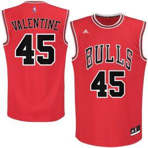 Denzel Valentine Chicago Bulls adidas 2016 Draft Pick Replica Jersey