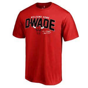 Dwyane Wade Chicago Bulls Youth 2016 Welcome Home T-Shirt