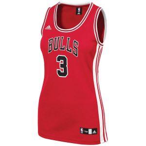 Dwyane Wade Chicago Bulls adidas Women's Replica Jersey