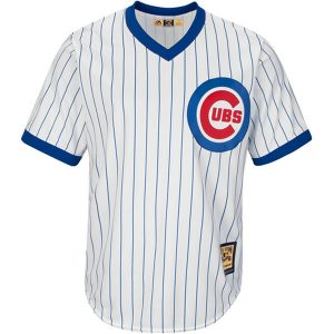 Ernie Banks Chicago Cubs Majestic Cool Base Cooperstown Collection Player Jersey