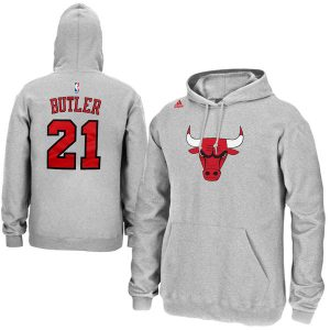 Jimmy Butler Chicago Bulls adidas Name & Number Pullover Hoodie