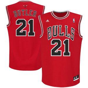 Jimmy Butler Chicago Bulls adidas Replica Road Jersey