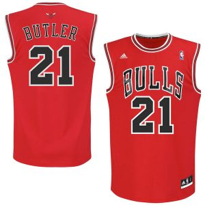 Jimmy Butler Chicago Bulls adidas Youth Boy's Replica Jersey