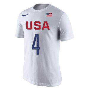 Jimmy Butler USA Basketball Nike Rio Replica Name & Number T-Shirt