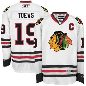 Jonathan Toews Chicago Blackhawks Reebok Away Premier Jersey