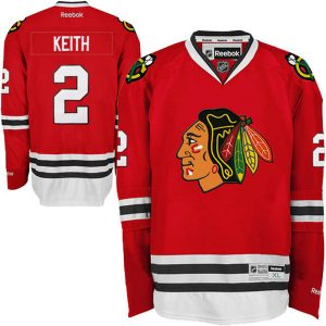 Reebok Duncan Keith Chicago Blackhawks Premier Player Replica Jersey