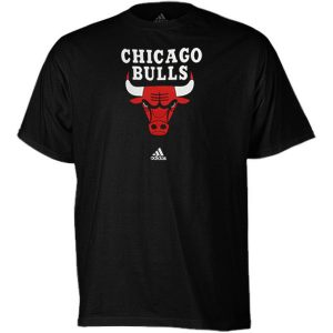 adidas Chicago Bulls Primary Logo T-Shirt