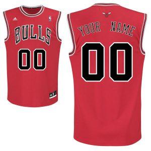 adidas Chicago Bulls Youth Custom Replica Road Jersey