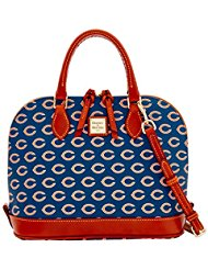 Dooney and Bourke Chicago Bears Zip Zip Satchel Handbag