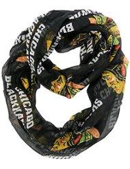 Chicago Blackhawks Alternate Black Sheer Infinity Scarf