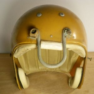 Vintage Chicago Bears NFL MacGregor Clear Shell Football Geodetic Suspension 100MH Helmet