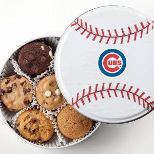 Chicago Cubs Baseball Tin (18 Nibblers® )