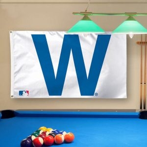 Chicago Cubs WinCraft Deluxe 3′ x 5′ W Flag