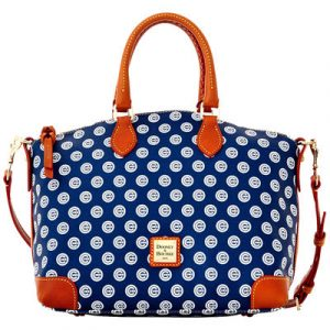Chicago Cubs Dooney & Bourke Women's Team Color Satchel