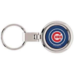 Chicago Cubs Domed Metal Keychain