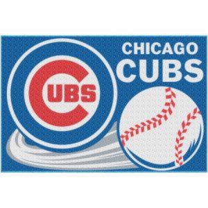 MLB Chicago Cubs 20″ x 30″ Tufted Bath Rug