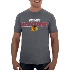 NHL Chicago Blackhawks Men's Short Sleeve Impact Tee